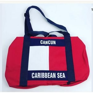 "Other - 90s Cancun Mex Caribbean Sea Duffle Bag 17""x12"""